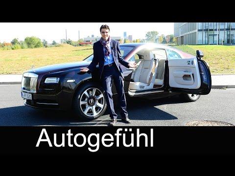 Rolls-Royce Wraith FULL REVIEW (Ghost Coupé) test driven 2016 - Autogefühl
