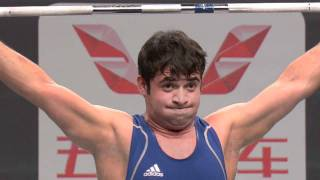 Iranian Weightlifter Paris 2011 HD
