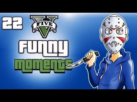 GTA 5 Online Funny Moments Ep. 22 (FIB Building, Bathroom Fun, Skit Fails)