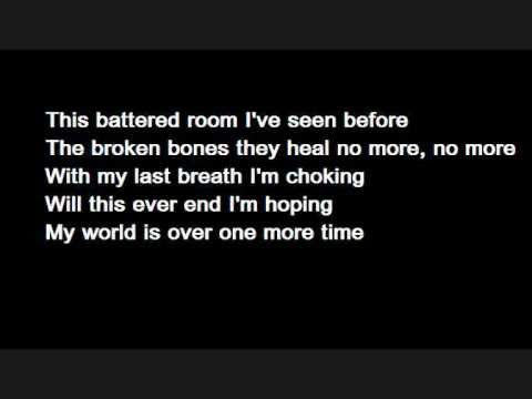Bullet For My Valentine - Tears Don't Fall (lyrics) video