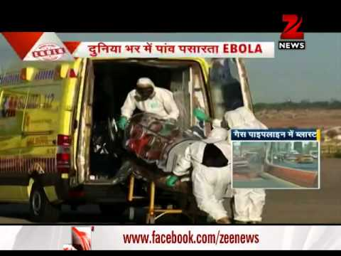 Ebola virus alert issued at Indian airports
