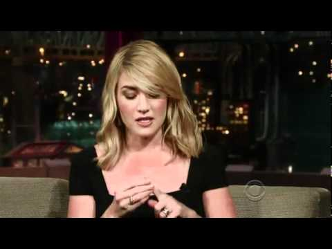 Kate Winslet On Letterman 1.8.09