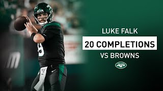 Luke Falk's 20 Completions In NFL Debut | New York Jets | NFL