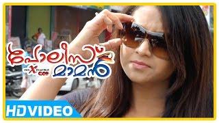 Police Maaman - Poilce Maman - Baburaj takes Sunitha Verma in bike