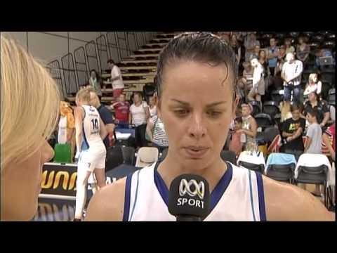 #WNBL Round 14 Interview - Kristen Veal (Canberra Capitals)