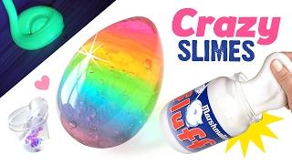 5 Crazy DIY Slimes You