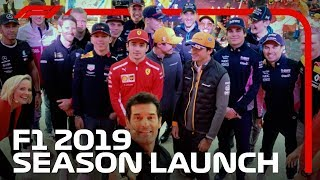 F1's First Ever Season Launch Event | 2019 Australian Grand Prix