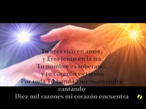 Matt Redman - 10,000 Reasons (bless The Lord) +spanish-lyrics video