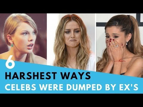 6 Harshest Ways Celebs Have Been Dumped By Exes!