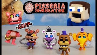 Five Nights at Freddy's, Broken Pigpatch?? Oops! Funko Pop Keychains! Pizzeria Simulator
