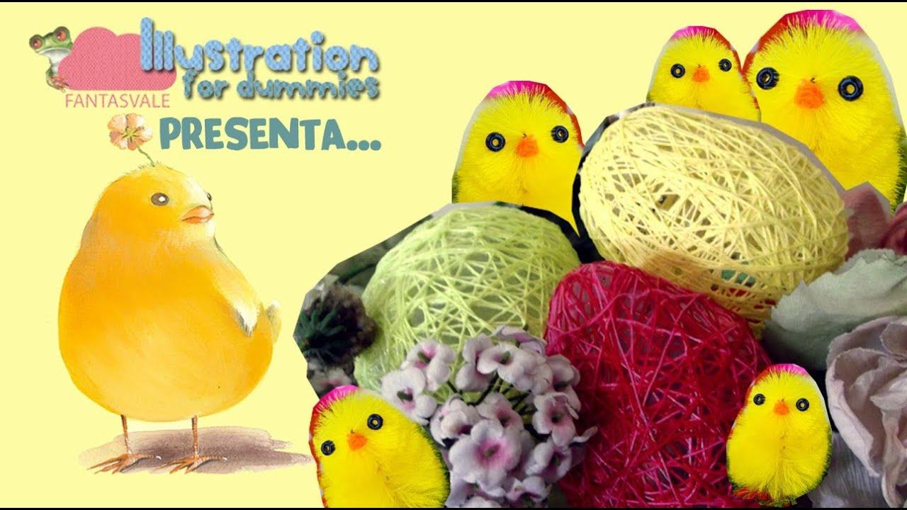 Uova di pasqua fai da te con sorpresa riciclo creativo youtube - Fai da te pasqua decorazioni ...