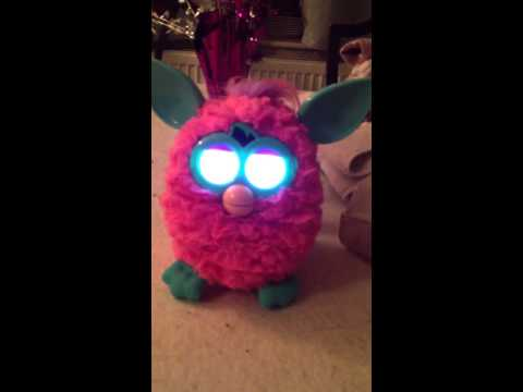 New Furby December 2012 in crazy personality!