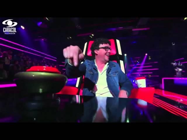 María cantó 'Como yo nadie te ha amado' de Bon Jovi – LVK Colombia – Audiciones a ciegas – T1