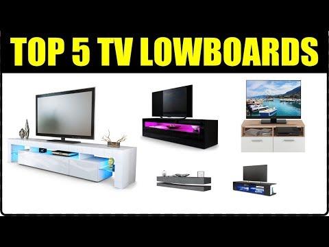 TOP 5 TV LOWBOARDS ★ Tv Board + Tv Schrank für Wohnzimmer ★ Tv Tisch Ideen ★ Tv Lowboard hängend,...