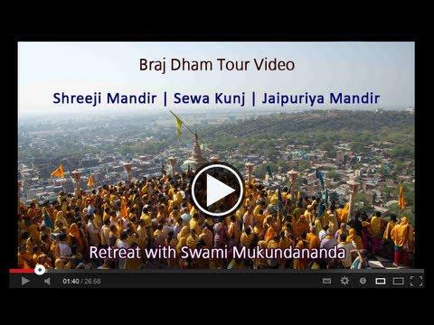 Shreeji Temple, Sewa Kunj & Jaipuriya Mandir Barsana [braj Dham Yatra With Swami Mukundananda] video
