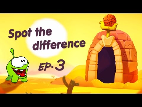 Spot the Difference Ep. 3 - Om Nom Stories: The Magic Lamp @KEDOO ANIMATIONS 4 KIDS HD