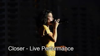 Download Lagu Halsey - Live Performace - Closer Gratis STAFABAND