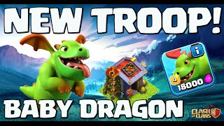 Clash of Clans UPDATE ♦ Introducing: The Baby Dragon! ♦