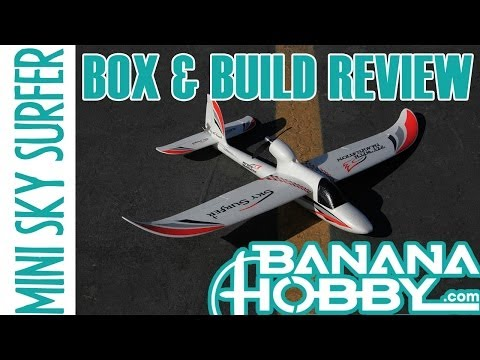 Mini Sky Surfer V2 BlitzRCWorks   Box and Build Review   Sailplane & Glider