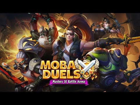 MOBA Duels - Masters Of Battle Arena Official Trailer