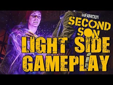 Playing inFamous: Second Son on DTOID.TV Light Side Playthrough with Spencer