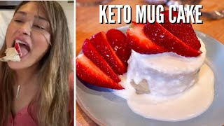 1 MINUTE KETO MUG CAKE - So Easy and Simple - Low Carb Love