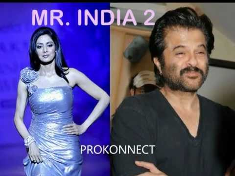 Sridevi And Anil Kapoor In Sequel - Mr India 2 video