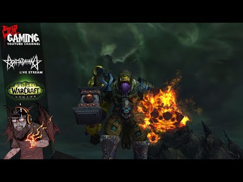 WORLD OF WARCRAFT LEGION live stream * 17.06.11 * iLVL HÚZÁS (SHAMAN)
