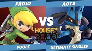 Smash Ultimate Tournament - Projo (Toon Link) Vs. Aota (Lucario) Xeno 149 SSBU Pools