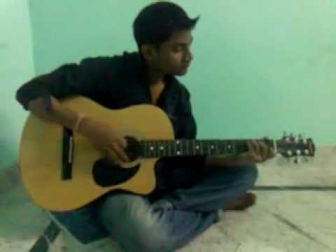 Sochta Hu Uska Dil Kabhi Mujh Pe Aye To song played by guitarSantosh...