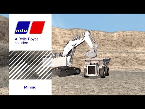 Journey through a MTU 12V 4000 Tier4 Mining engine