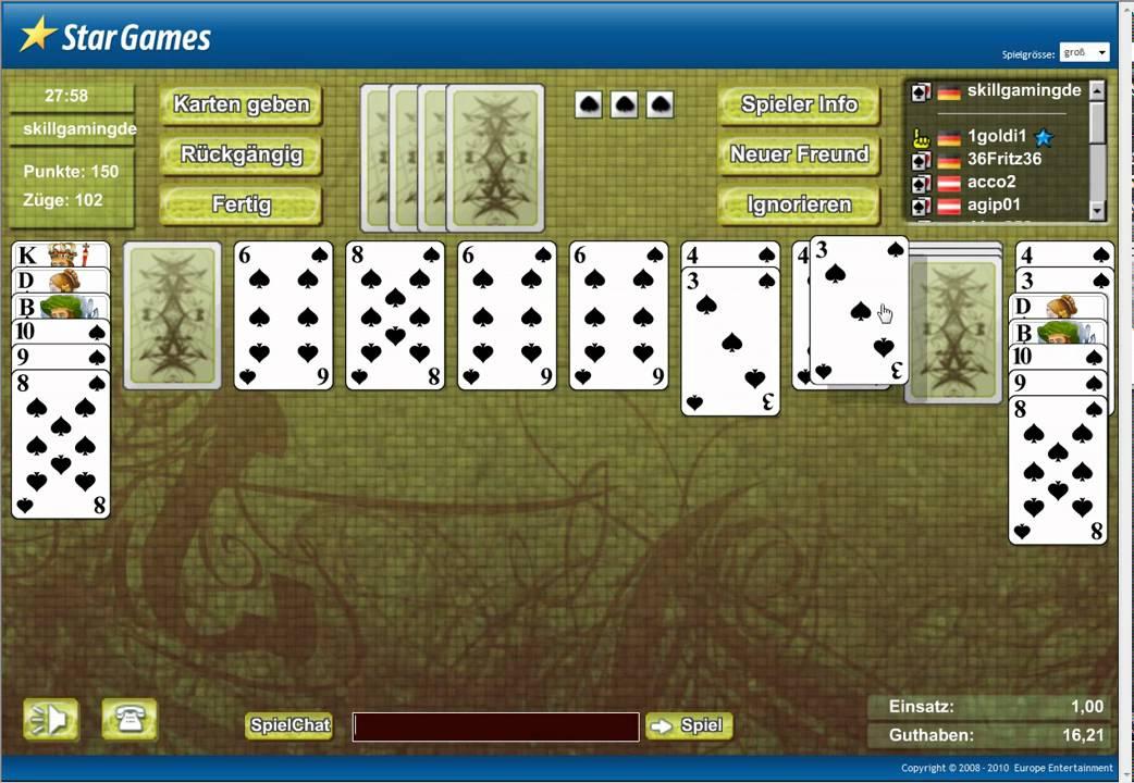 www.spider solitaire kostenlos spielen