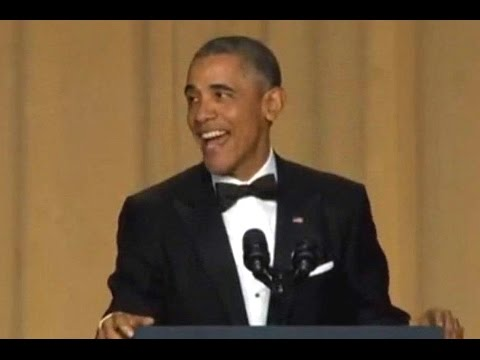 Barack Obama :)))  White House correspondents dinner 2016 APRIL 30.