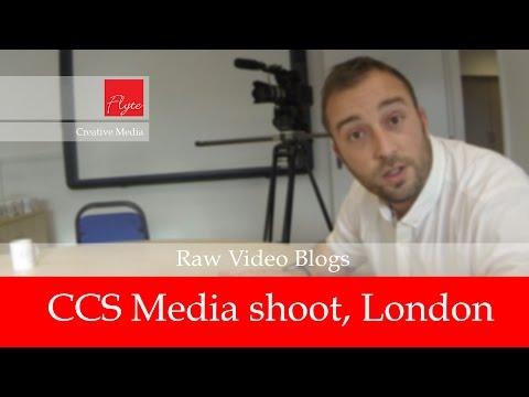 FLYTE Raw Video Blog - CCS Media shoot, London