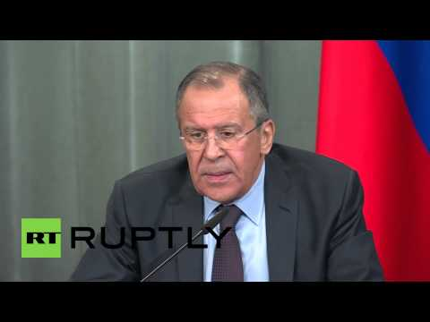 Russia: 'Pity that well-educated Europeans believe sanctions solution to Ukraine' - Lavrov