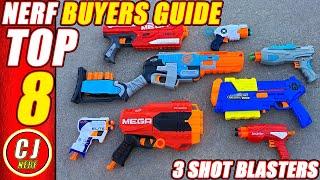 Nerf Gun Buyers Guide   2018 Which 3 Shot Blaster is #1