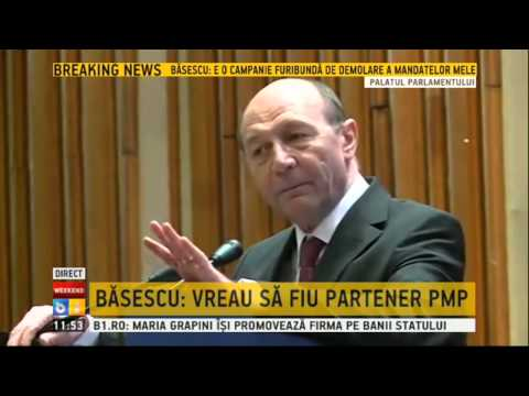 Traian Basescu, discurs la Congresul PMP
