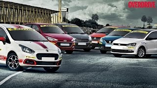 Track test: Affordable petrol hot hatchbacks in India