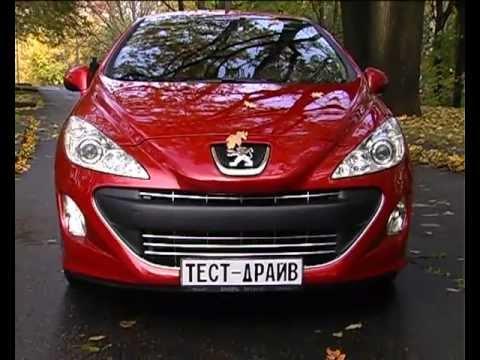 тест-драйв Peugeot 308 CC