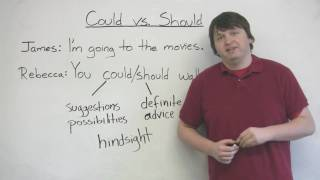 English Grammar - COULD & SHOULD
