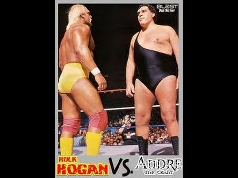 WrestleMania III Hulk Hogan Vs André the Giant Wwf Championship Match