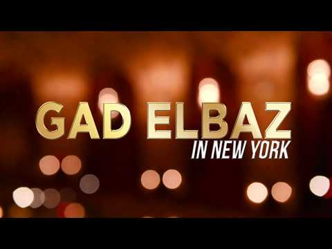 GAD ELBAZ L'Chaim Tour in NY – March 4th PROMO