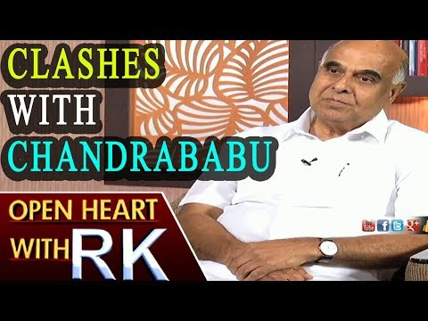 Telangana Transco and Genco CMD Prabhakar Rao about Clashes with Chandrababu | Open Heart with  RK