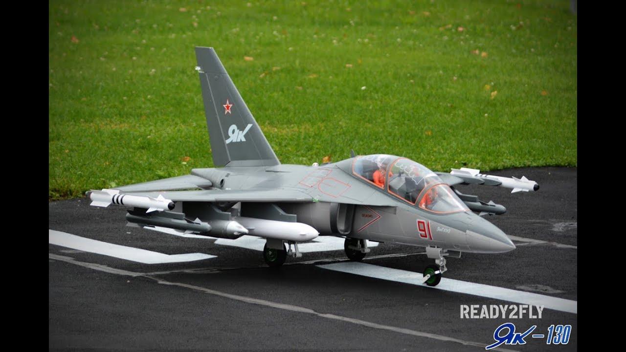 ready2fly YAK-130 90mm Jet PnP grey Xtreme ...