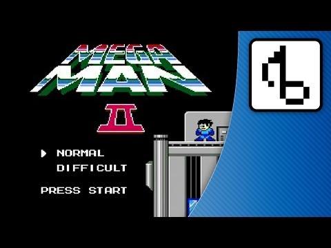 Mega Man 2 TITLE With Lyrics - brentalfloss