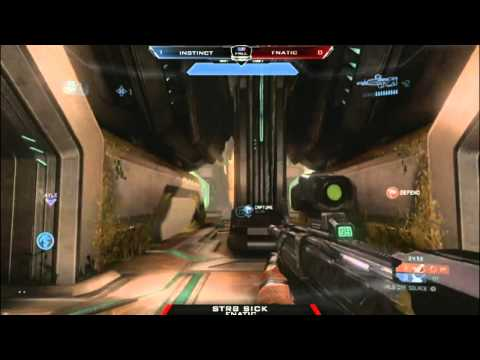 Halo 4 - Fnatic Classic vs Instinct - MLG Dallas 2012 - WBR 5 - Game 2
