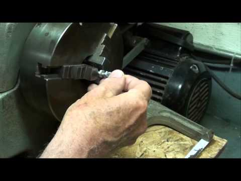MACHINE SHOP TIPS #106 Making Knurled Thumb Screws for South Bend Lathe tubalcain