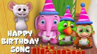 chúc mừng sinh nhật | nhac thieu nhi | ca nhac thieu nhi | Little Treehouse | Happy Birthday