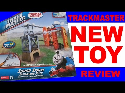 New Thomas And Friends Trackmaster Toy Train Review 2014