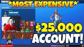 Epic CONFIRMED the MOST EXPENSIVE Fortnite Account EVER! (EVERY SKIN RELEASED) Fortnite Moments 189